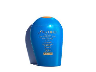 Shiseido Ultimate Sun Protection Lotion WetForce, SPF 50, 3.3 fl oz