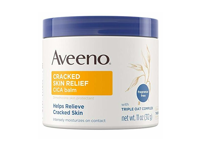 Cracked Skin Relief Cica Balm With Triple Oat Complex, 11 oz