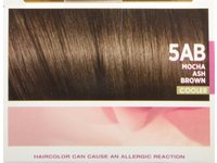 L'Oreal Excellence Triple Protection Color Creme, 5AB Mocha Ash Brown, 3 Pack - Image 9