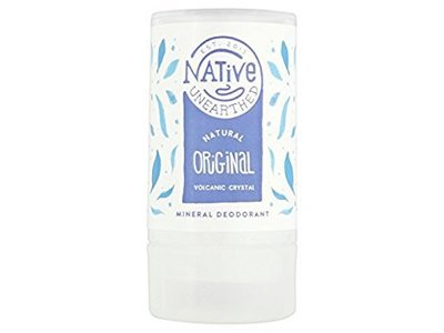 Native Unearthed Natural Crystal Deodorant - Original 100g (Pack of 2)