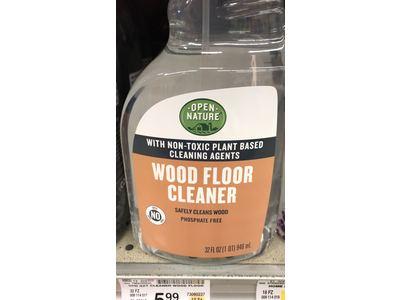 Open Nature Wood Floor Cleaner, 32 fl oz