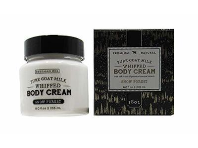 Beekman 1802 Pure Goat Milk Whipped Body Cream, Snow Forest, 8.0 fl oz.