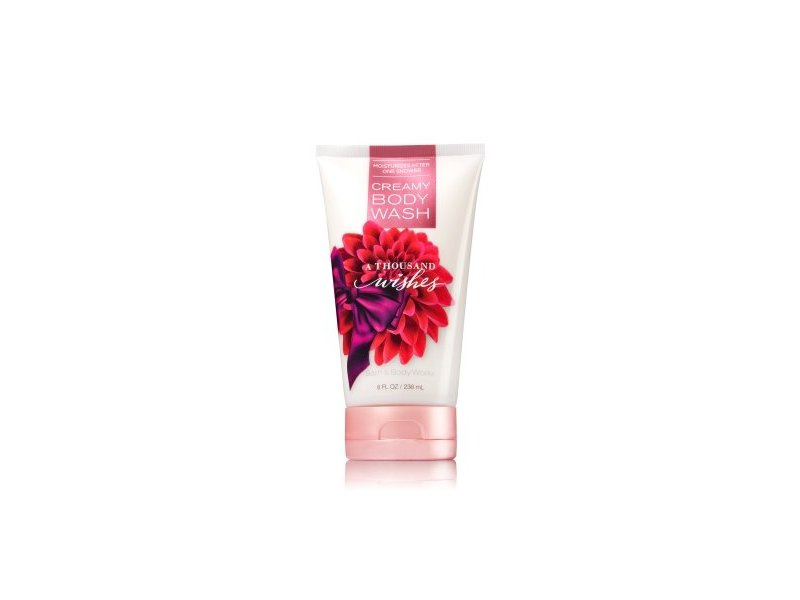 Bath and Body Works A Thousand Wishes Creamy Body Wash 8 Ounce