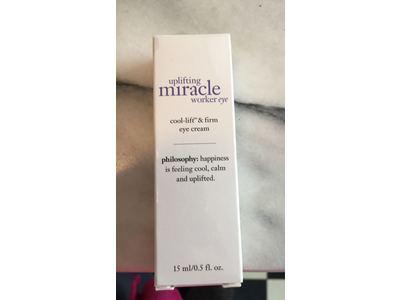 Philosophy Uplifting Miracle Worker Eye Cream, 0.5 Ounce - Image 3
