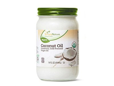 Nature Coconut Oil Unrefined, Cold-Pressed Virgin Oil, 14 fl oz - Image 1