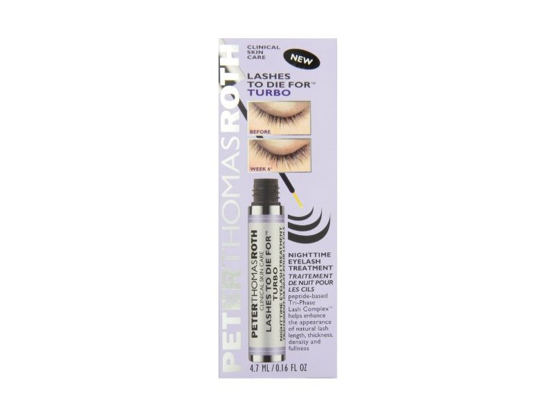 Peter Thomas Roth Lashes To Die for Turbo Nighttime Eyelash Treatment, 0.16 Ounce