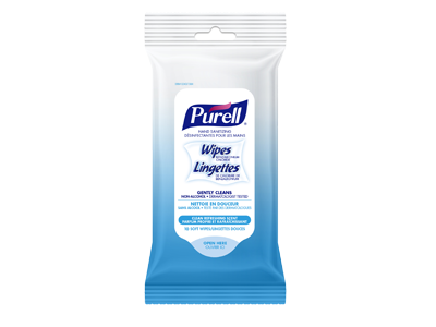 Purell Hand Sanitizing Wipes, 10 ct