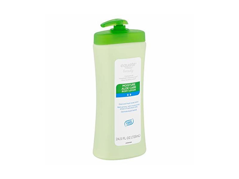 Equate Beauty Moisture Aloe Care Body Lotion, 24.5 fl oz