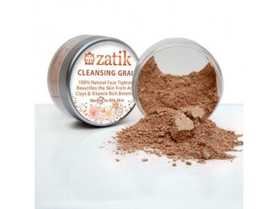 Zatik Beauty Essentials Cleansing Grains, Oats and Clays, 1.6 oz