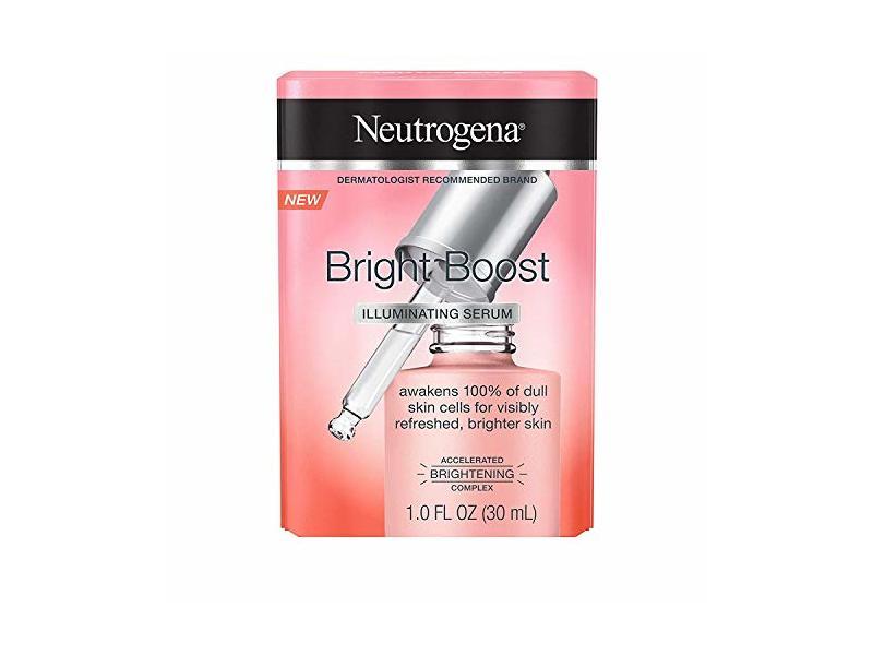 Neutrogena Bright Boost Illuminating Face Serum 1.0 fl oz (30 mL) (Pack of 2)