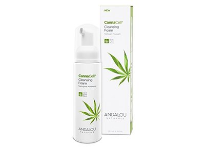 Andalou Naturals CannaCell Cleansing Foam, 5.5 Ounce