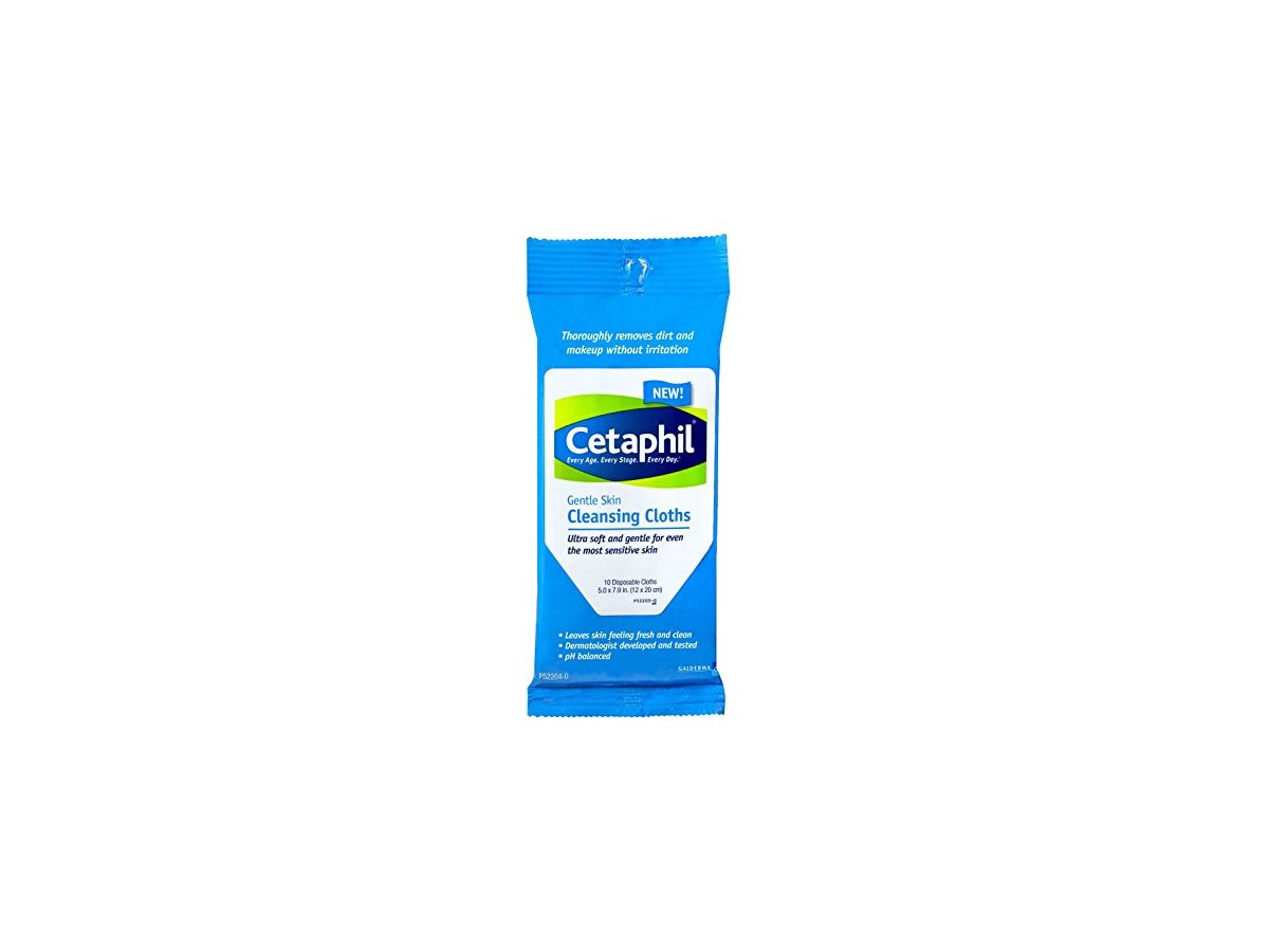 Cetaphil Gentle Skin Cleansing Cloths Pack Of 4 10