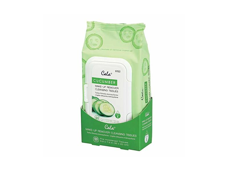 Cala Makeup Remover Cleansing Tissue, Cucumber