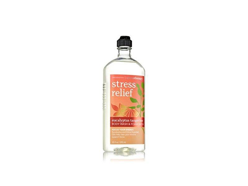 Bath & Body Works Aromatherapy Stress Relief Eucalyptus Tangerine Body Wash, 10 Oz.