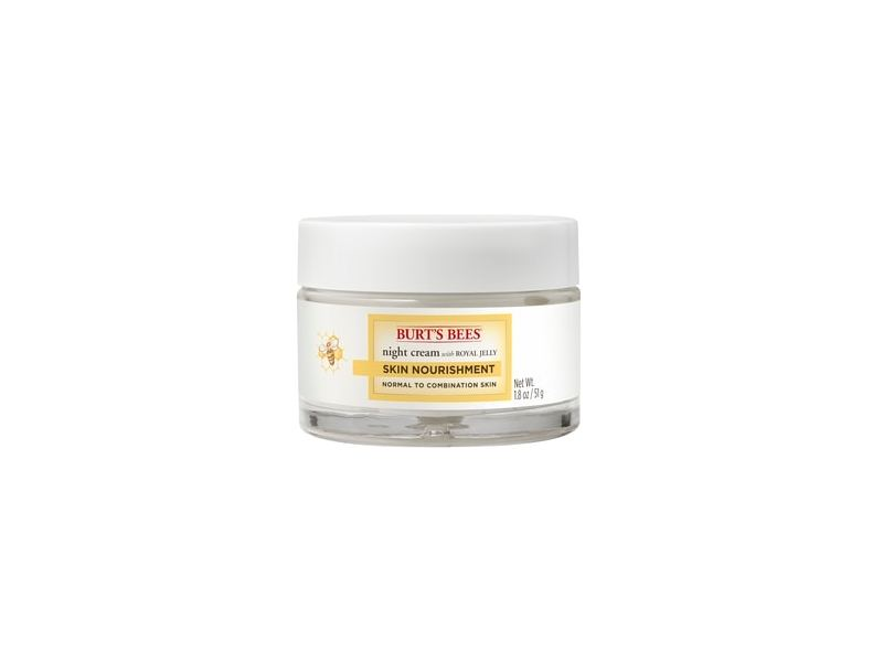 Burt's Bees Skin Nourishment Night Cream for Normal to Combination Skin
