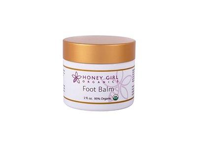 Honey Girl Organics Foot Balm, 2 Fluid Ounce