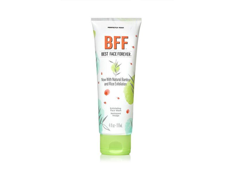 Perfectly Posh BFF Best Face Forward Exfoliating Face Wash, 4 fl oz/118 mL