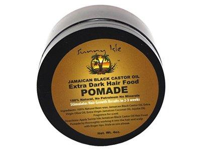 Sunny Isle Extra Dark Jamaican Black Castor Oil Hair Food Pomade, 4 oz