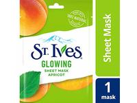 St. Ives Skin Care Sheet Mask, Glow Apricot, 6 Count - Image 2
