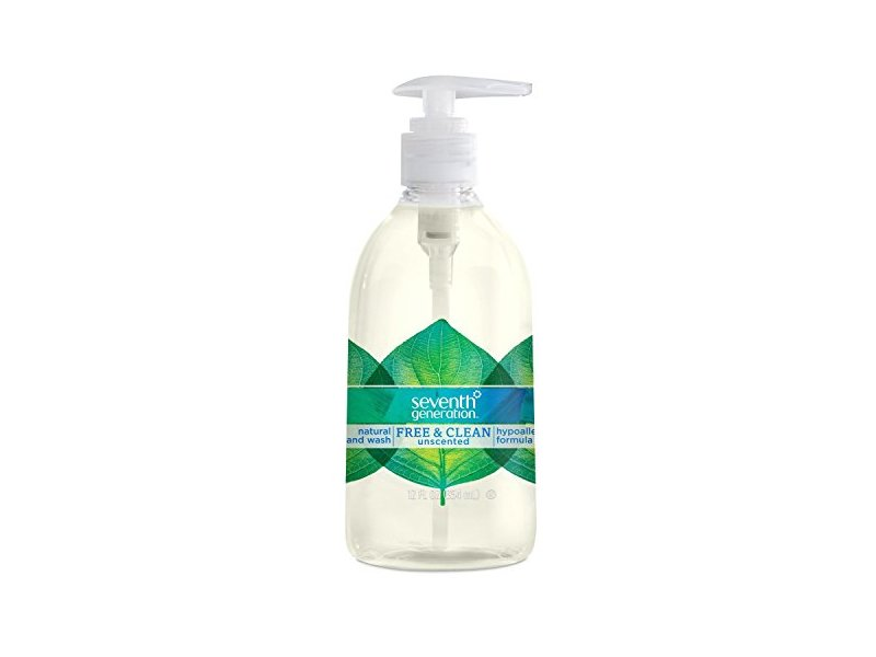 Seventh Generation Hand Wash, Free and Clean, 12 Ounce