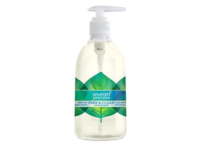 Seventh Generation Hand Wash, Free and Clean, 12 Ounce - Image 1