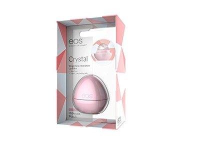 EOS Crystal Lip Balm, Hibiscus Peach, 0.25 Ounce