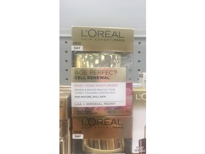 L'Oreal Paris Age Perfect Cell Renewal Rosy Tone Moisturizer, 1.7 oz - Image 4