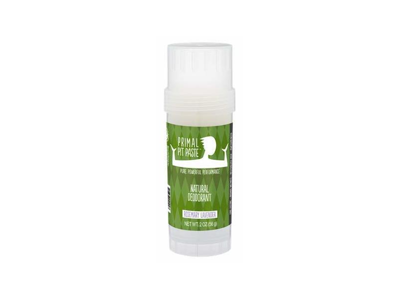 Primal Pit Paste All-Natural Deodorant Stick, Rosemary Lavender, 2 oz
