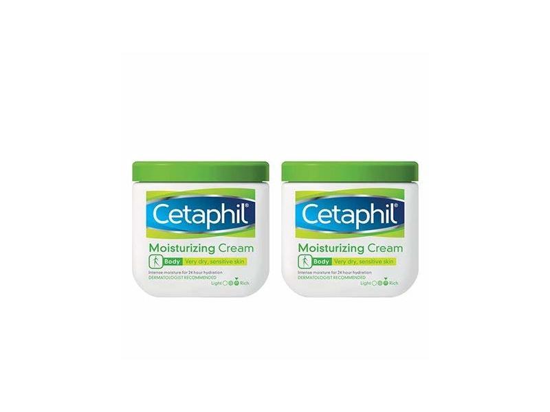 Cetaphil Moisturizing Cream for Dry, Sensitive Skin, 20 oz/566 g (2 Pack)