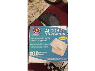 Vida Mia Alcohol Cleansing Pads, 100 ct - Image 3