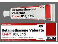 Betamethasone Valerate Cream USP 0.1% (RX), 15 g Taro Pharmaceuticals - Image 1