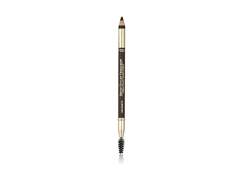 L'Oreal Paris Brow Stylist Designer Brow Pencil, Dark Brunette 315, 0.04 Ounce