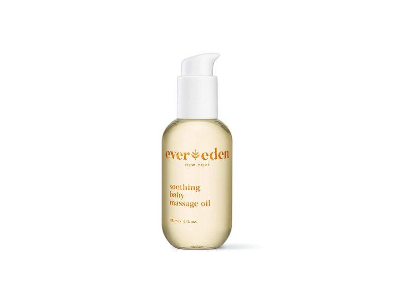 Ever Eden Soothing Baby Massage Oil, 4 fl oz/118 mL