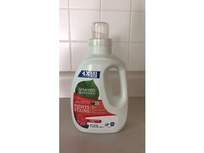Seventh Generation Laundry Detergent, Blossoms & Vanilla, 40 fl oz - Image 3