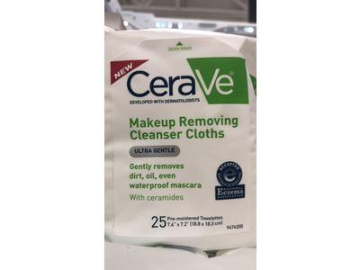 CeraVe Makeup Removing Cleanser Cloths, 25 Count - Image 4