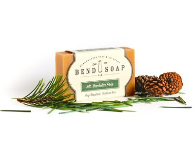 Bend Soap Company Mount Bachelor Pine Goat Milk Soap, 4.5 oz