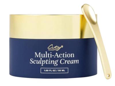 City Beauty Multi-Action Sculpting Cream, Firm And Sculpt, 1.69 fl oz/50 ml