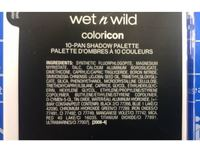 Wet n Wild Color Icon 10-Pan Shadow Palette, Lights Off, 0.42 oz/12 g - Image 4