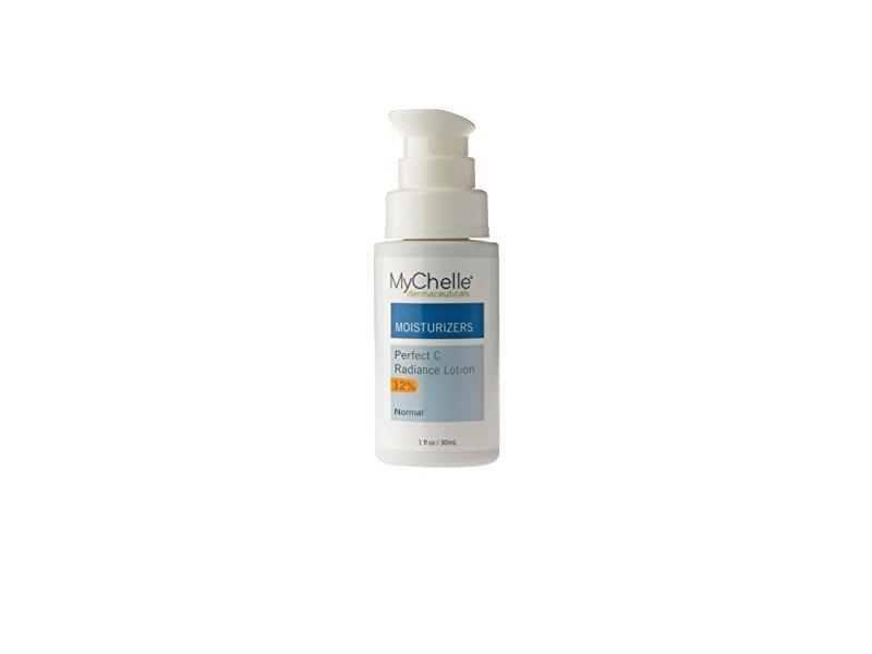 MyChelle Perfect C Radiance Lotion, 12% L-Ascorbic Acid Vitamin C Moisturizer for All Skin Types, 1 fl oz