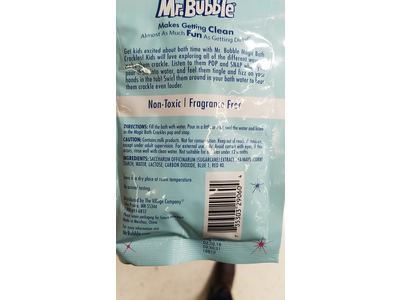 Mr. Bubble Magic Bath Crackles, Fragrance-Free, 1.05 oz - Image 3