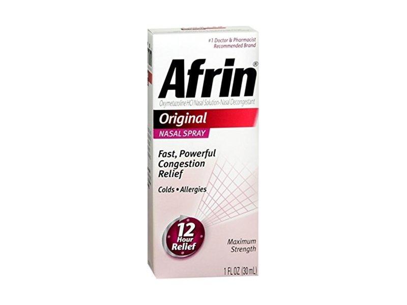 Afrin Nasal Spray, Original, 30 mL