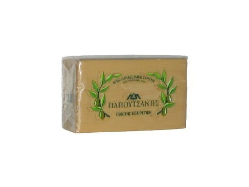 Papoutsanis Pure Olive Oil Soap, 125 g (Case of 6)