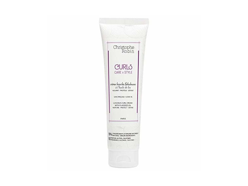 Christophe Robin Luscious Curl Cream with Flaxseed Oil, 150 ml