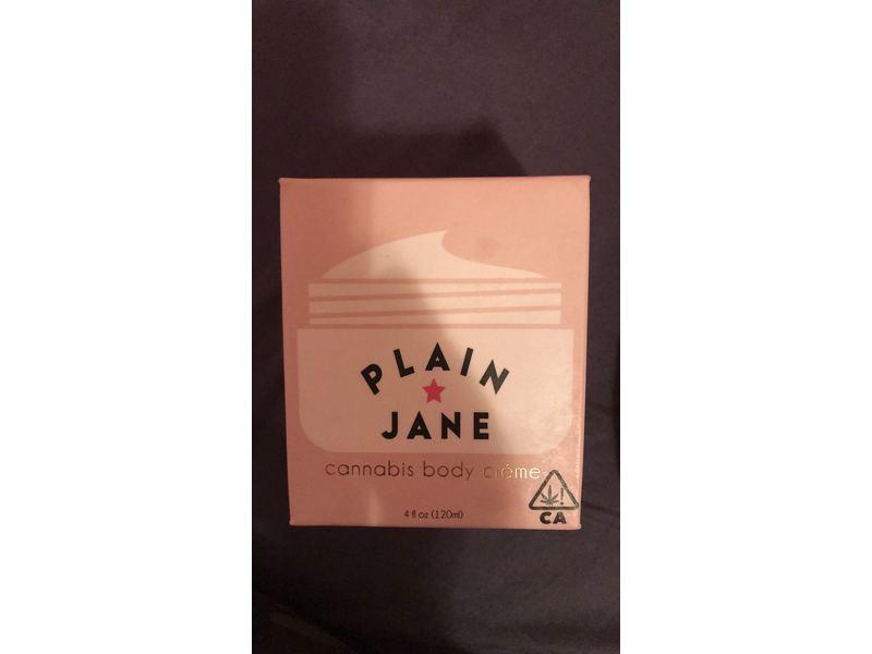 Plain Jane Beauty Cannabis Body Creme