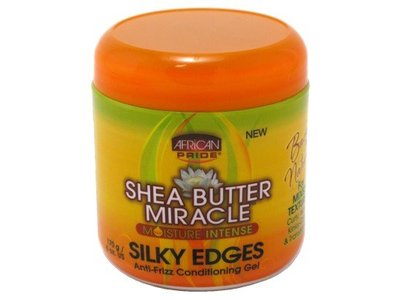 African Pride Shea Miracle Silky Edges, 6 oz