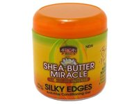 African Pride Shea Miracle Silky Edges, 6 oz - Image 2