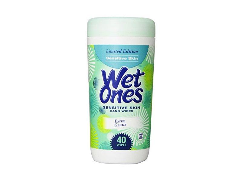 Wet Ones Sensitive Skin Wipes, 40 count