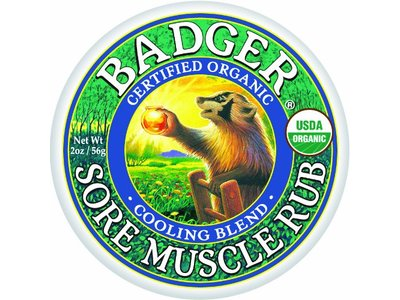 Badger Sore Muscle Rub, Cooling Blend, 2oz