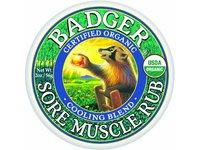 Badger Sore Muscle Rub, Cooling Blend, 2oz - Image 2