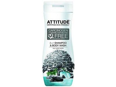 Attitude 2-in-1 Shampoo and Body Wash, 12 fl oz - Image 1